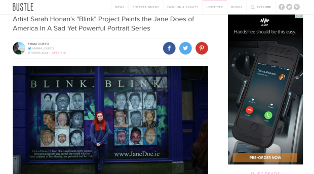 http://www.bustle.com/articles/68402-artist-sarah-honans-blink-project-paints-the-jane-does-of-america-in-a-sad-yet-powerful